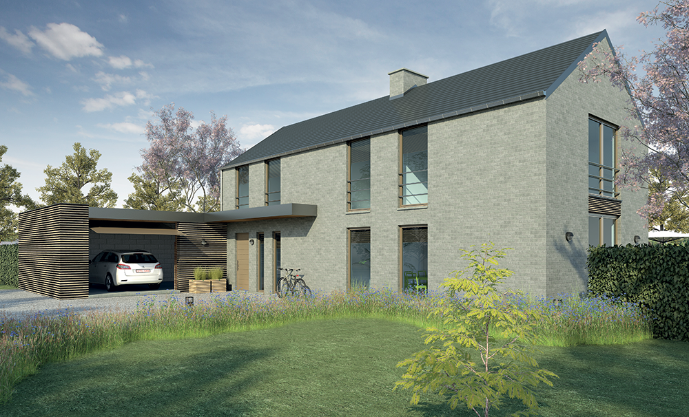 Construction de maisons unifamiliales ma maison batifer - Ma maison contemporaine ...